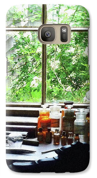 Galaxy Case featuring the photograph Doctor - Medicine And Hurricane Lamp by Susan Savad
