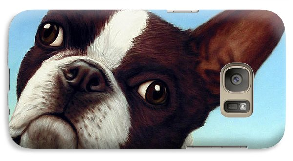 Dog-nature 4 Galaxy S7 Case by James W Johnson