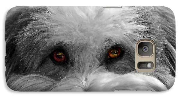 Galaxy Case featuring the photograph Coton Eyes by Keith Armstrong