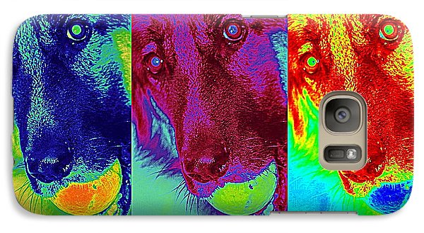 Galaxy Case featuring the photograph Doggy Doggy Doggy by Cathy Shiflett