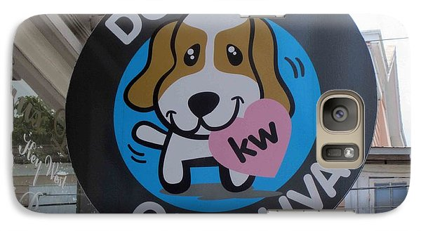 Galaxy Case featuring the photograph Dogs On Duval by Fiona Kennard