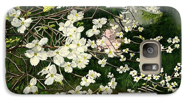 Galaxy Case featuring the painting Dogwoods Virginia by Melly Terpening