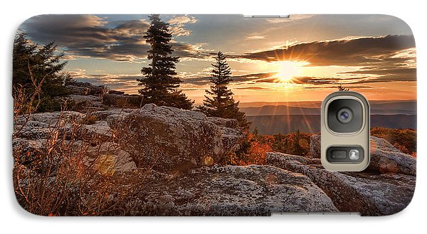Galaxy Case featuring the photograph Dolly Sods Morning by Jaki Miller