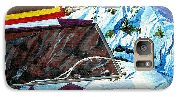 Galaxy Case featuring the painting Dolomite Panorama by Daniel Janda