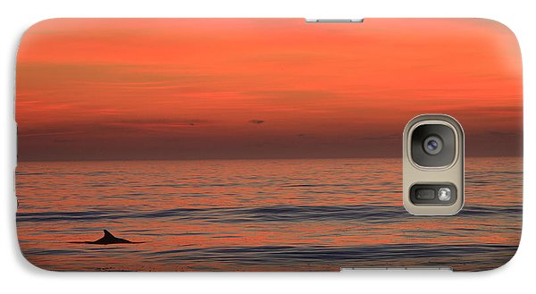 Galaxy Case featuring the photograph Dolphin At Cape Hatteras by Mountains to the Sea Photo