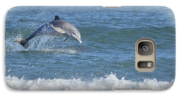 Dolphin In Surf Galaxy S7 Case