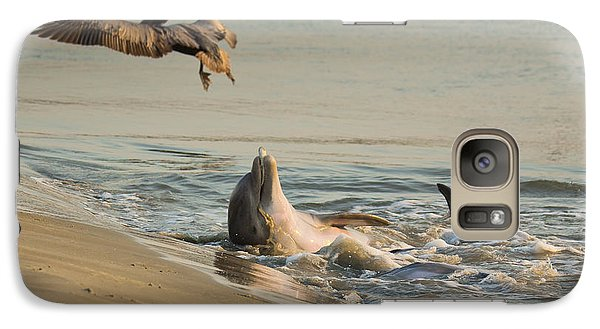 Galaxy Case featuring the photograph Dolphin Joy by Patricia Schaefer