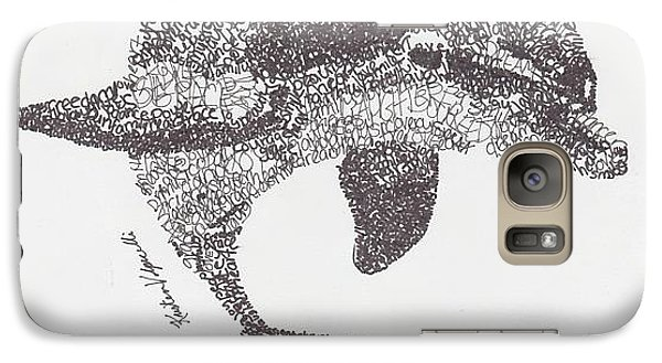 Dolphin Galaxy S7 Case by Michael  Volpicelli