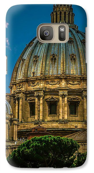 Galaxy Case featuring the photograph Dome Of Michelangelo by Rob Tullis