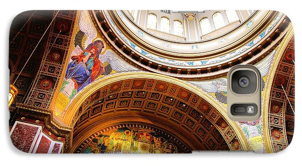 Galaxy Case featuring the photograph Dome Of St. Matthews Washington Dc by John S
