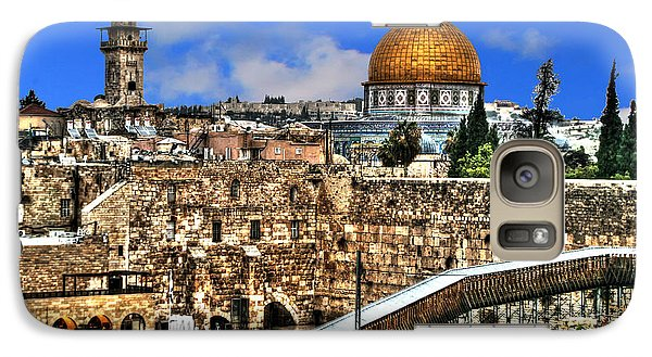 Galaxy Case featuring the photograph Dome Of The Rock by Doc Braham