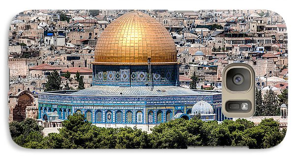 Galaxy Case featuring the photograph Dome Of The Rock by Uri Baruch