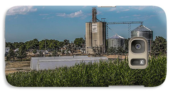 Galaxy Case featuring the photograph Donahue Iowa by Ray Congrove