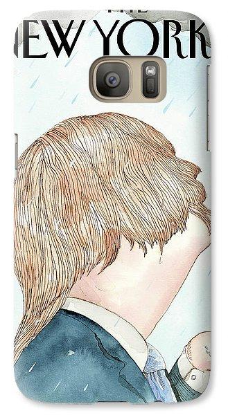 Donald's Rainy Days Galaxy S7 Case by Barry Blit