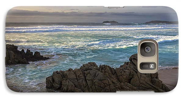 Galaxy Case featuring the photograph Doninos Beach Ferrol Galicia Spain by Pablo Avanzini