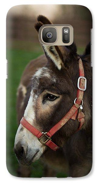 Donkey Galaxy S7 Case by Shane Holsclaw