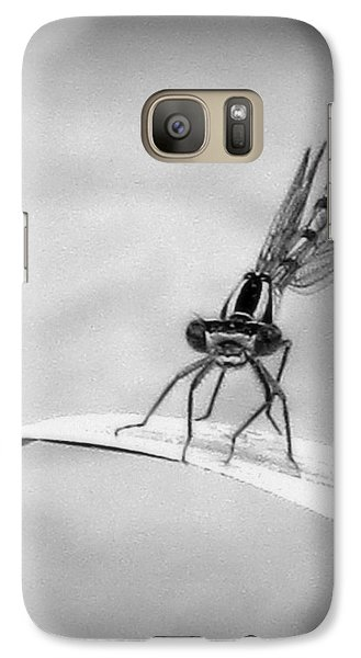 Galaxy Case featuring the photograph Donna The Damselfly by Karen Shackles