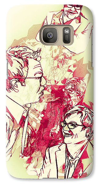 Galaxy Case featuring the digital art Donnie by Matt Lindley