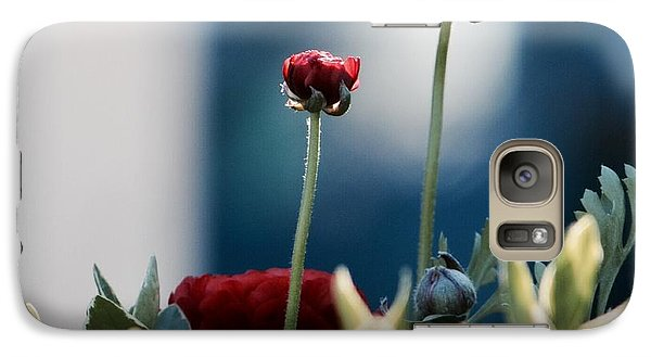 Galaxy Case featuring the photograph Don't Be Ranunculus by Penni D'Aulerio