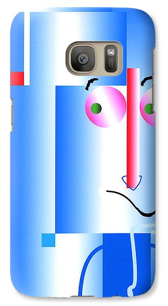 Galaxy Case featuring the digital art Don't Blame Me by Mary Armstrong