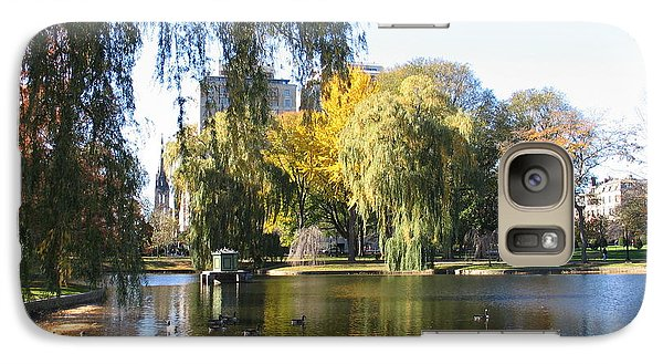Galaxy Case featuring the photograph Don't Feed The Ducks - Boston by Shelia Kempf