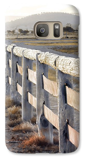 Galaxy Case featuring the photograph Don't Fence Me In by Holly Kempe