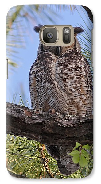 Galaxy Case featuring the photograph Don't Mess With My Chicks #2 by Paul Rebmann