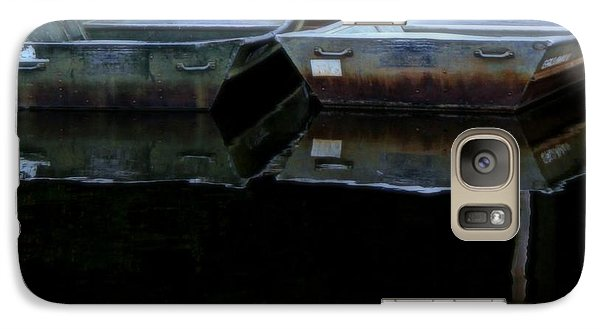 Galaxy Case featuring the photograph Don't Rock The Boat by Geri Glavis