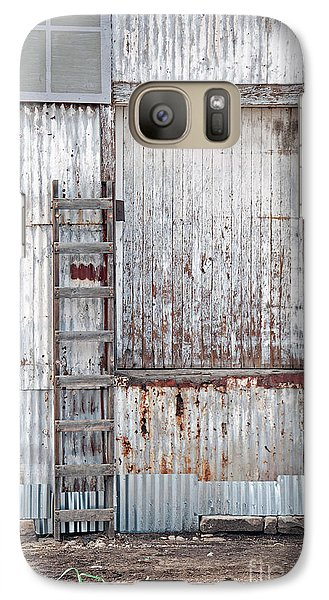 Galaxy Case featuring the photograph Door 1 by Minnie Lippiatt
