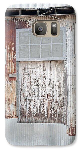 Galaxy Case featuring the photograph Door 2 by Minnie Lippiatt