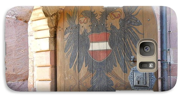 Galaxy Case featuring the photograph Door At Nuremberg by Kay Gilley
