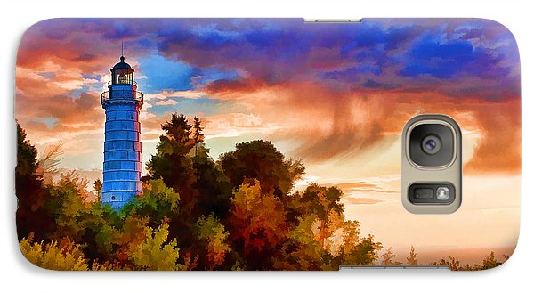 Door County Cana Island Wisp Galaxy S7 Case