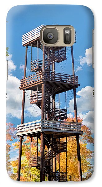 Door County Eagle Tower Peninsula State Park Galaxy S7 Case by Christopher Arndt