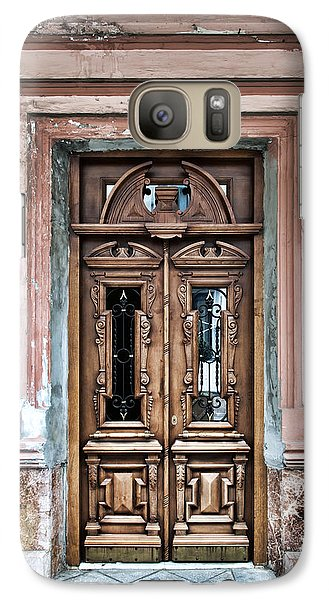 Galaxy Case featuring the photograph Door by Gouzel -