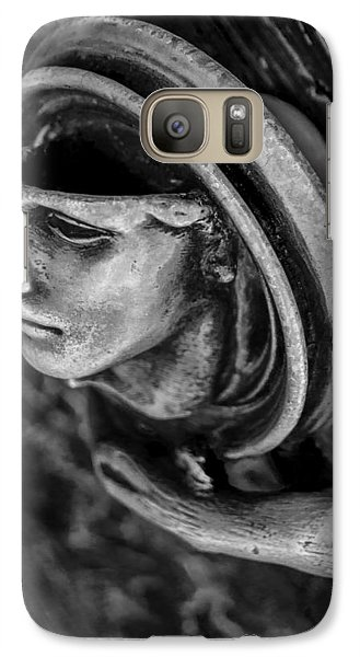 Galaxy Case featuring the photograph Door Handle by Arkady Kunysz