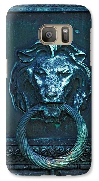 Galaxy Case featuring the photograph Door Knocker by Rowana Ray