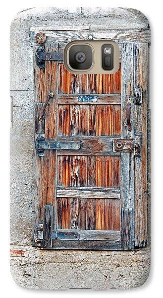 Galaxy Case featuring the photograph Door Series by Minnie Lippiatt