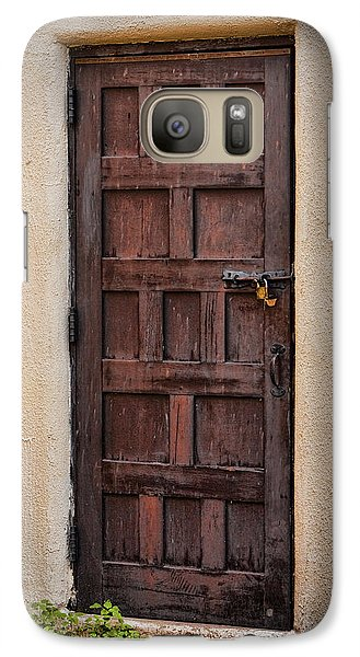 Galaxy Case featuring the photograph Door To Your Id ...  by Chuck Caramella