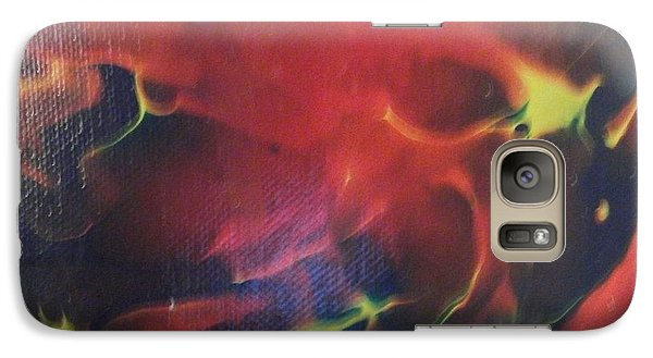 Galaxy Case featuring the painting Doorbell by Thomasina Durkay