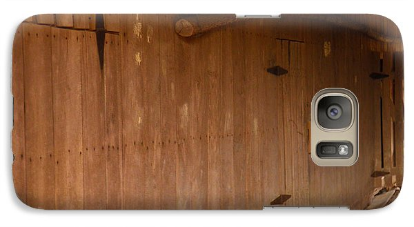 Galaxy Case featuring the photograph Doors To The Past by Nick Kirby