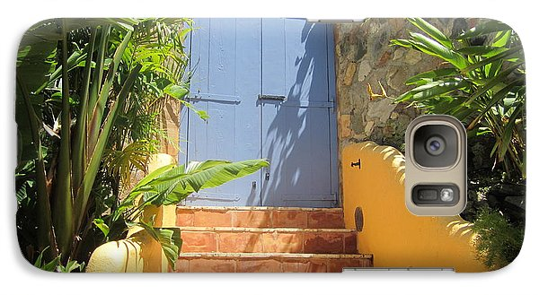 Galaxy Case featuring the photograph Doorway To Paradise by Fiona Kennard