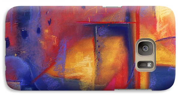 Galaxy Case featuring the pastel Doorways by Susan Will