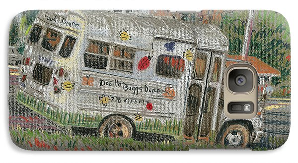 Galaxy Case featuring the painting Doodlebugs Bus by Donald Maier