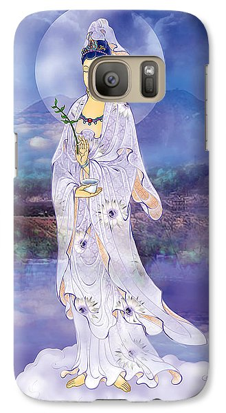 Galaxy Case featuring the photograph Doro Guanyin by Lanjee Chee