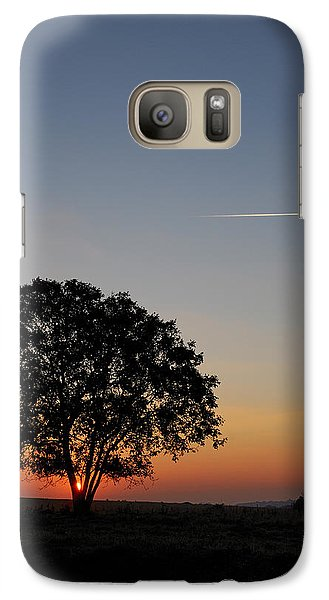 Galaxy Case featuring the photograph Dorset Dawn by Wendy Wilton
