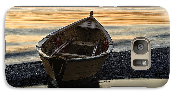 Galaxy Case featuring the photograph Dory At Dawn by Marty Saccone