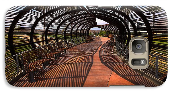 Galaxy Case featuring the photograph Dos Lagos Tunnel Walk by Richard Stephen