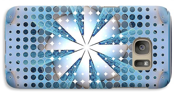 Galaxy Case featuring the photograph Dot Dot 1 by Barbara MacPhail