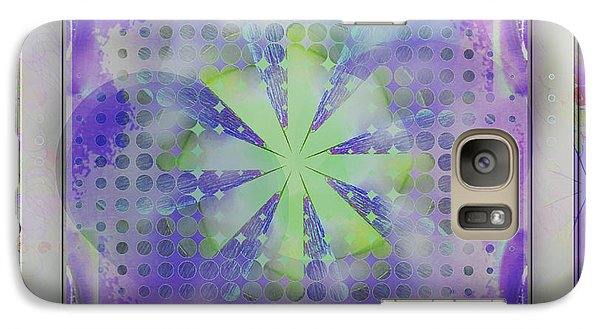 Galaxy Case featuring the photograph Dot Dot by Barbara R MacPhail