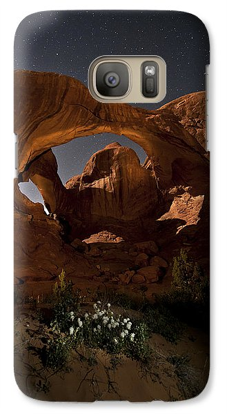 Double Arch In The Moonlight Galaxy S7 Case